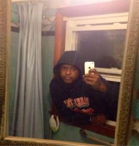 lustiger selfie
