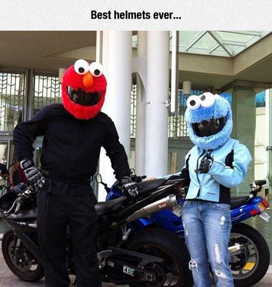 Die besten Helme ever!
