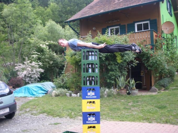 Bierkasten-Planking