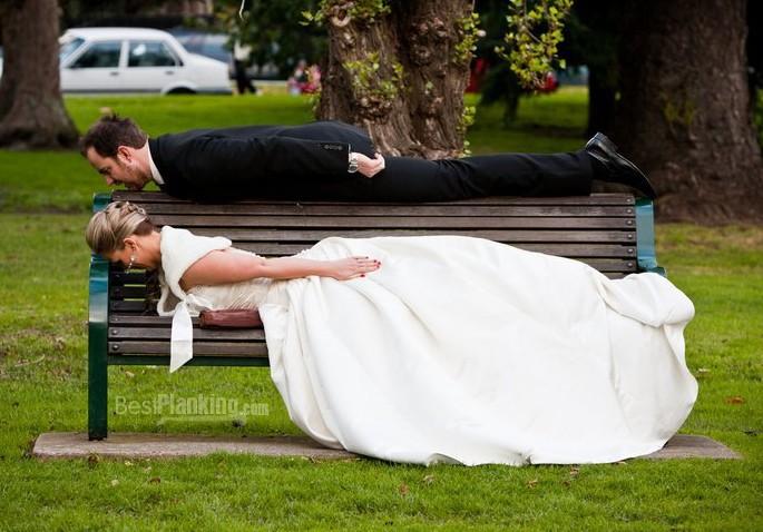 Hochzeitsplanking