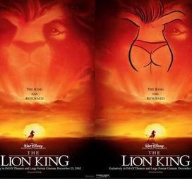 Und nochmal König der Löwen ...