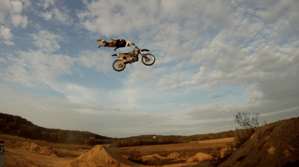 Motorcross-Planking