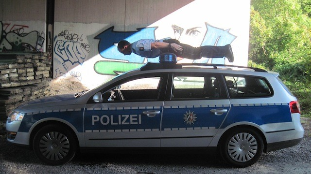 Polizei-Planking