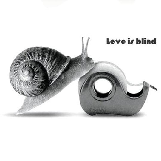 Liebe ist blind.